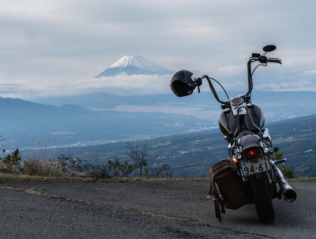 Bike and Fuji
