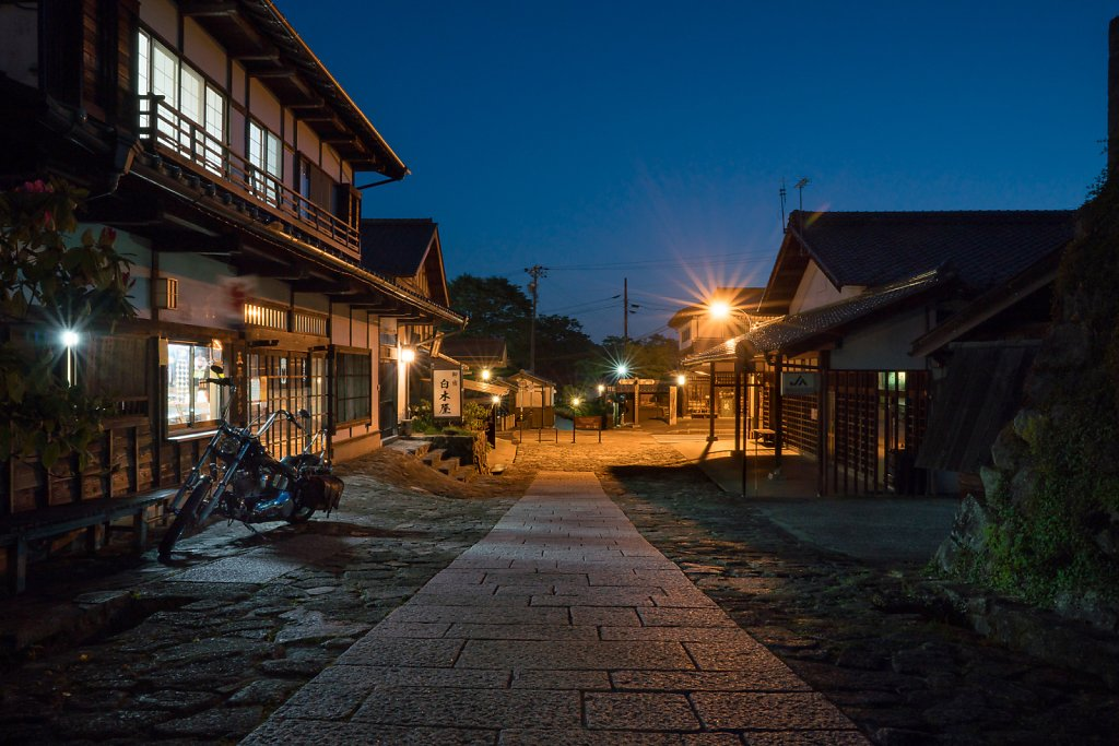 Night at the Shirokiya Inn in Magome
